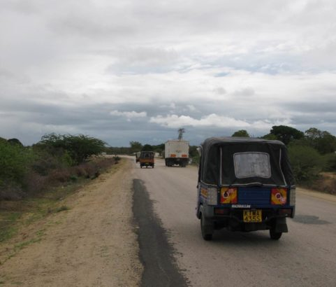 B8 Road from Malindi to the T-Junction on A3 - 331 kilometres, Kenya