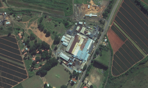 The Swazi Can Factory and Housing in Malkerns, Swaziland
